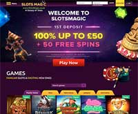 SlotsMagic Lobby